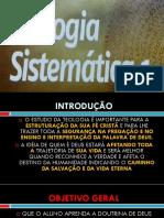 Teologia Sistemática - DEUS
