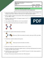 3 Lista Exercícios Simetria Molecular