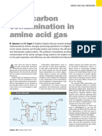 Natural Gas Hydrocarbon Contamination in Amine