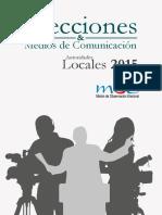 Libro MOE Elecciones y Medios de Comunicación 2015