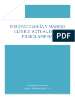 Pathophysiology and Current Clinical Management of Preeclampsia TRADUCIDO