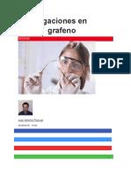 Investigaciones en Bolivia Grafeno