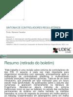 Aula Controle Digital - Sintonia de Controladores Regulatórios