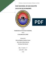 El Salario en El Peru