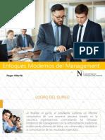 Enfoques Modernos Del Management