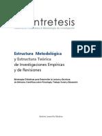 Estructura Metodológica y Estructura Teórica de un Proyecto de Investigación.pdf