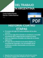 Antecedentes del trabajo social en Argentina