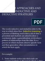 Inductive and Deductive
