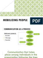 Mobilizing People