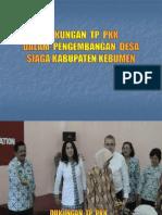 Dukungan TP PKK