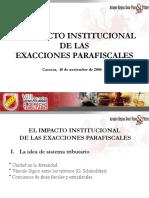 Exacciones Parafiscales
