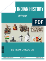 Modern Indian History a Primer - OrGOS IAS