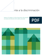 Confronting Discrimination Es