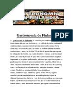 Gastronomía de Finlandia