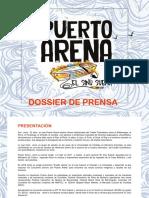 Dossier de Prensa - Puerto Arena 2019