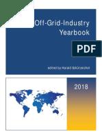 Off Grid Industry Yearbook 2018