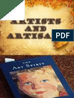 Lesson 5 Artists and Artisansfinalppt