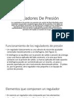 Reguladores de Presión