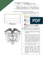Ficha-simbolos Patrios Evaluacion Parcial