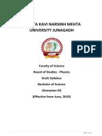 Physics-sem III & IV (New) 2019