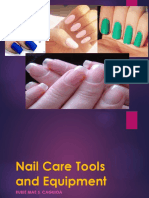 Nailcare tools and materials