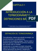 Microsoft PowerPoint - Capitulo I Introduccion a Termodinámica.v1 [Modo de Compatibilidad]