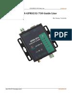 USR-GPRS232-730 Guide Line