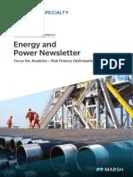Energy Newsletter Oct 2019