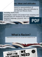 What is Racism - For Unit 3 English for EAL Learners (Issues Ideas and Attitudes)