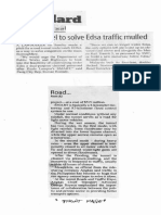 Manila Standard. Oct. 7, 2019, Road tunnel to solve Edsa traffic mulled.pdf
