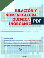 Formulacion y Nomenclatura Quimica