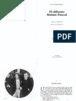Luigi Pirandello. El difunto Matías Pascal.pdf