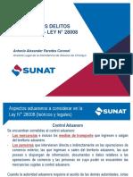 2019 Delitos Aduaneros - Capacitación Sunat