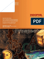 2001 Report (Prospectus on Mining)
