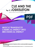 Biochem Report Muscle and Cytoskeleton