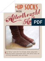 Toe Up Socks With Afterthougth Heel (2)