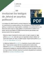 ¿Por Qué No Se Involucran en Política Los Testigos de Jehová_ _ Preguntas Frecuentes (1)