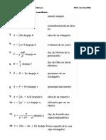 Laboratorio de Despeje de Fórmulas