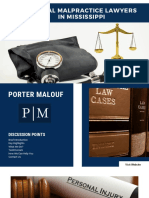 Top Medical Malpractice Lawyers in Mississippi - Porter Malouf