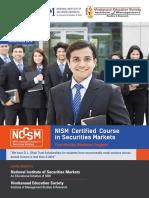 prospectus of nism certifications