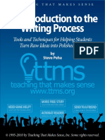 Ttms Flp Steve Peha Intro to the Writing Process Writing Packet