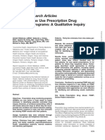 How Clinicians Use Prescription Drug Monitoring Programs