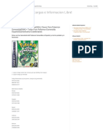 Claves Pokemon Esmeralda(GBA), Claves Para Pokemon Esmeralda[GBA] + Todos Para Pokemon Esmeralda Español(Gamesharks_Codebreaker) _ Programas, Descargas e Informacion Libre!