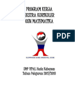 Program Kerja Pembinaan Osn Matematika (1)