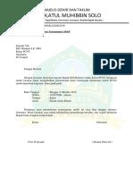Surat Peminjaman Mobil