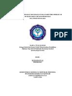 IDENTIFIKASI TINGKAT KECEMASAN PADA PASIEN PRE OPERASI DI RUMAH SAKIT UMUM .pdf