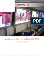modulos pvc leds