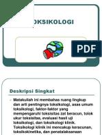 Materi Toksikologi 1