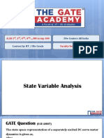 8. State Variable Analysis