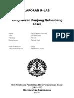 OR01 Pengukuran Panjang Gelombang Laser - HendriawanKurniadi